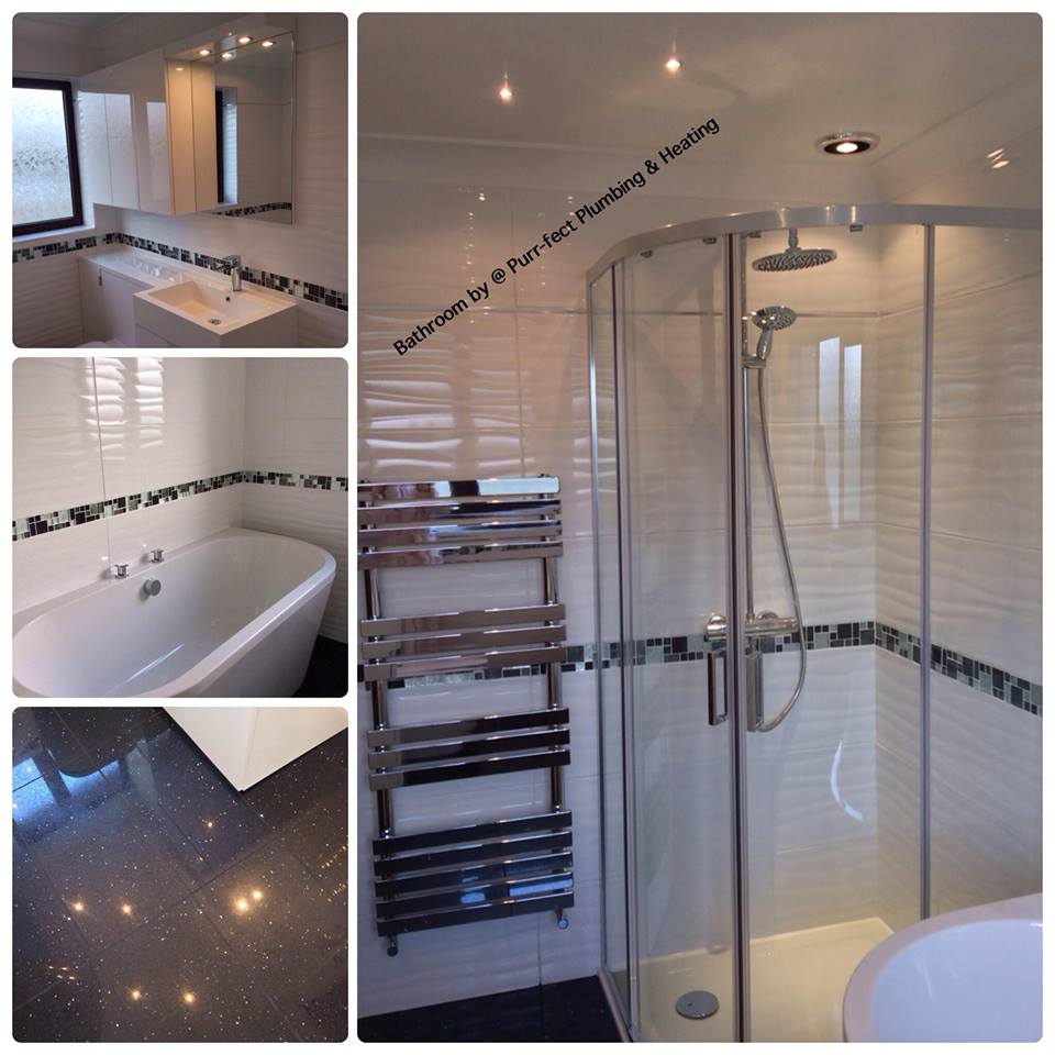 Bathroom & Shower Installation with tiling